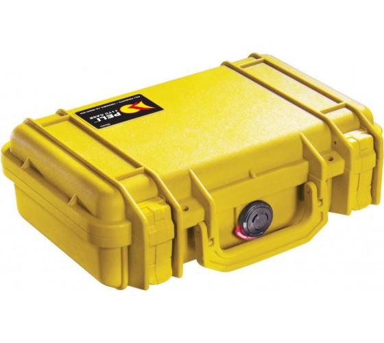 Skrzynia PELI 1170 żółta